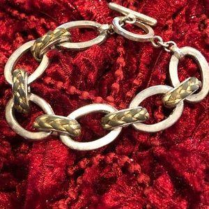 Jewelry - Silver heavy weight bracelet